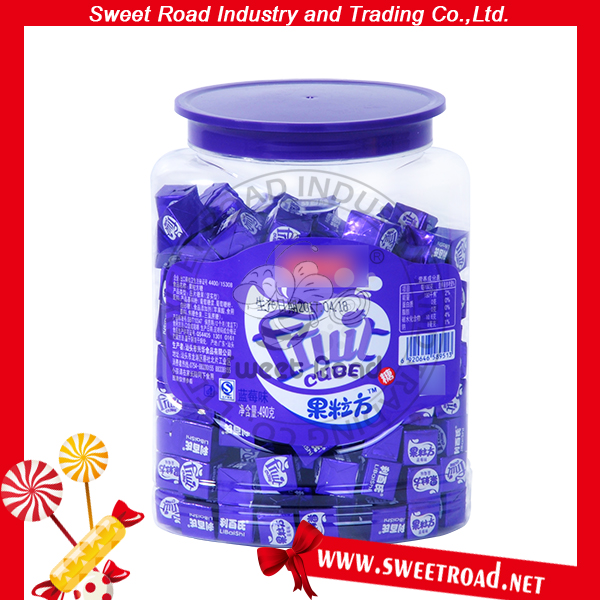 Sweet Cube Milk fruit flavor candy