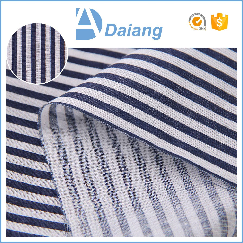 New companies products stripe 90sm woven fabrics cotton fabric