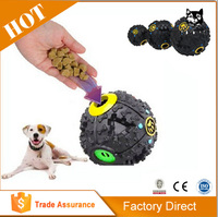 Fun Food Dispenser Treat Chew Ball Rubber Pet Products Toys for Dog