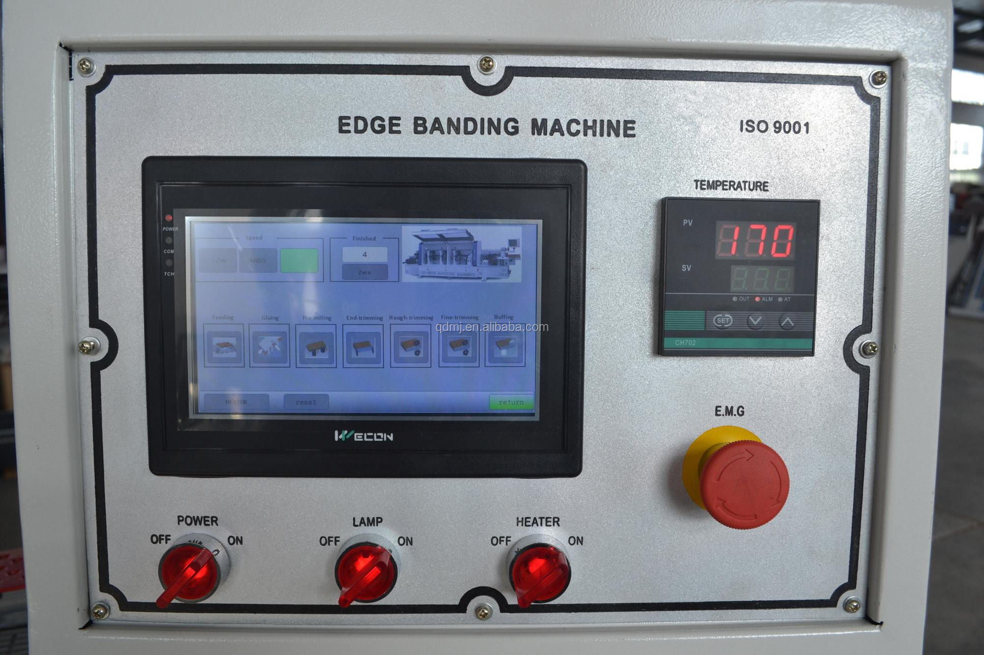Woodworking Automatic Edge banding machine with pre milling
