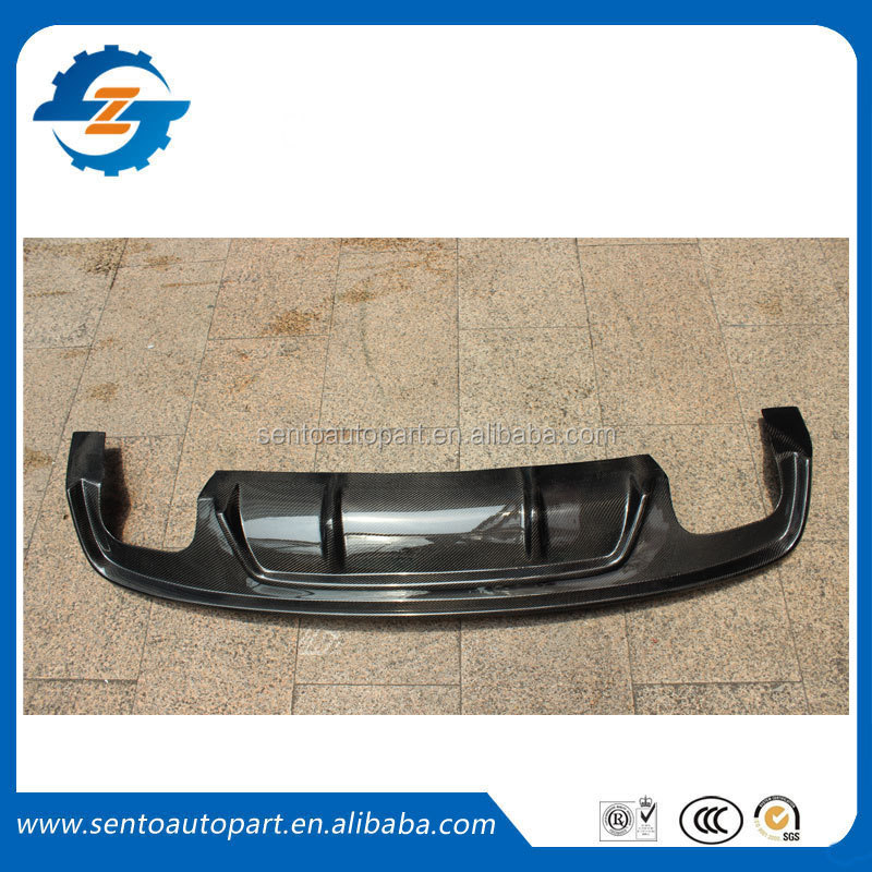 High quality A5 sport style S5 carbon fiber rear lip for A5 S5 2012+