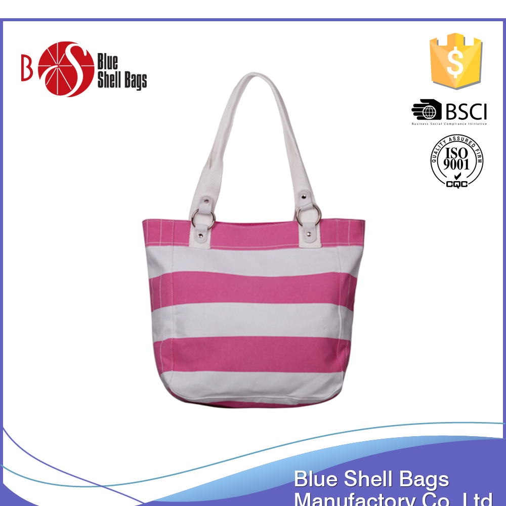 Tote Handbag 600 Denim Tote Bags Wholesale Beach Bag Textured Stripes fashion bag ladies handbag 2016