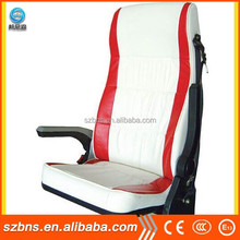 Air suspension reclining used bus guide seat for sale