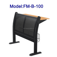 No.FM-B-100 Metal frame school desk and chair