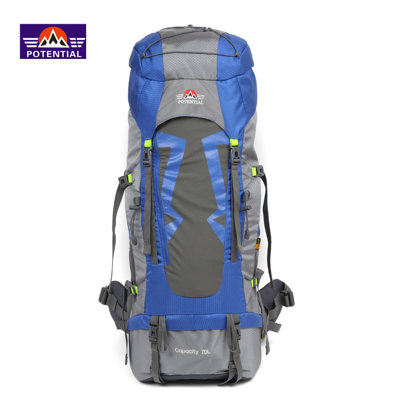 2016 Hot sale waterproof nylon 60L traveling outdoor sports eco bag