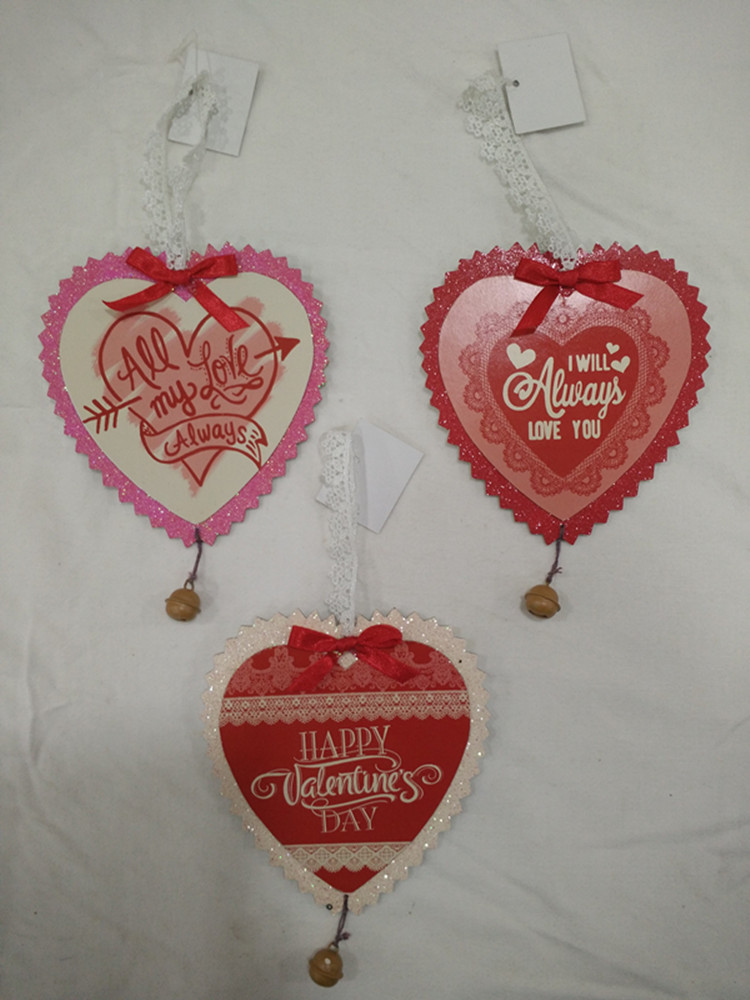 Papercard Heart Shape Wall Hanging Valentine Day Gifts