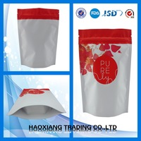 China factory hot sale accept custom shopping bag wholesale,plastic zipper bag by printing making machine