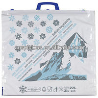 Ice cool drinks food thermo bag thermal carry bag