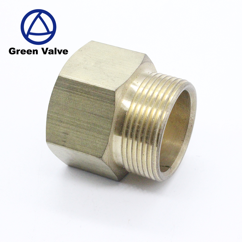 "Green-GutenTop OEM Brass Hose Fitting Reducer Adapter 1/2"" NPT BSP Male female Pipe fittings"