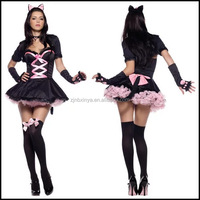 Sexy Cat Women Animal Costumes Halloween Cosplay Costumes