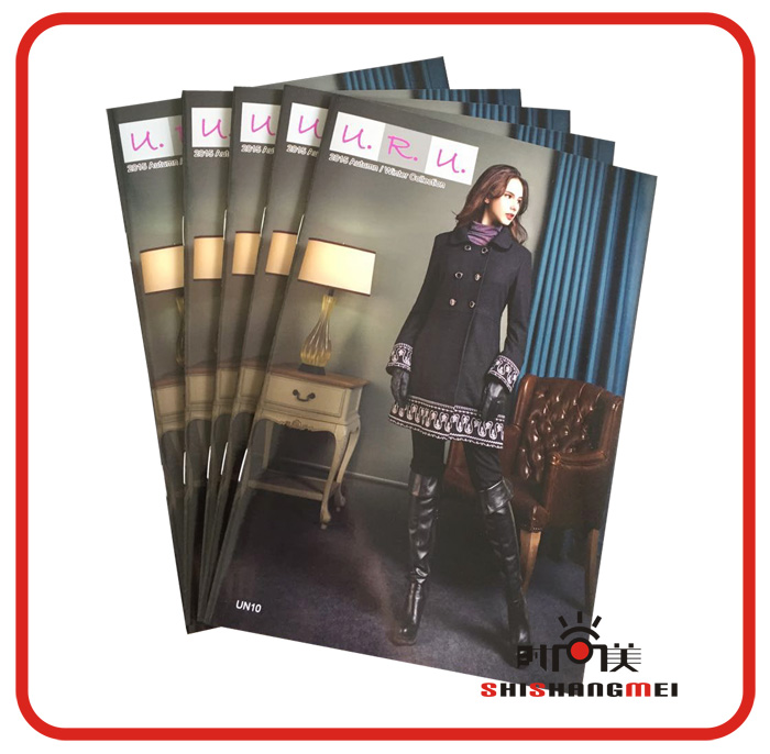 Custom full <strong>color</strong> fashion high quality booklet printing wholesale Low cost catalogue printing