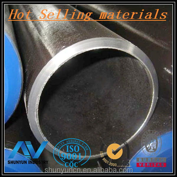 Hot rolled carbon RHS with material SGP JIS G3452 SGP in size 90*3MM From Shanghai steel supplier with SGS certification