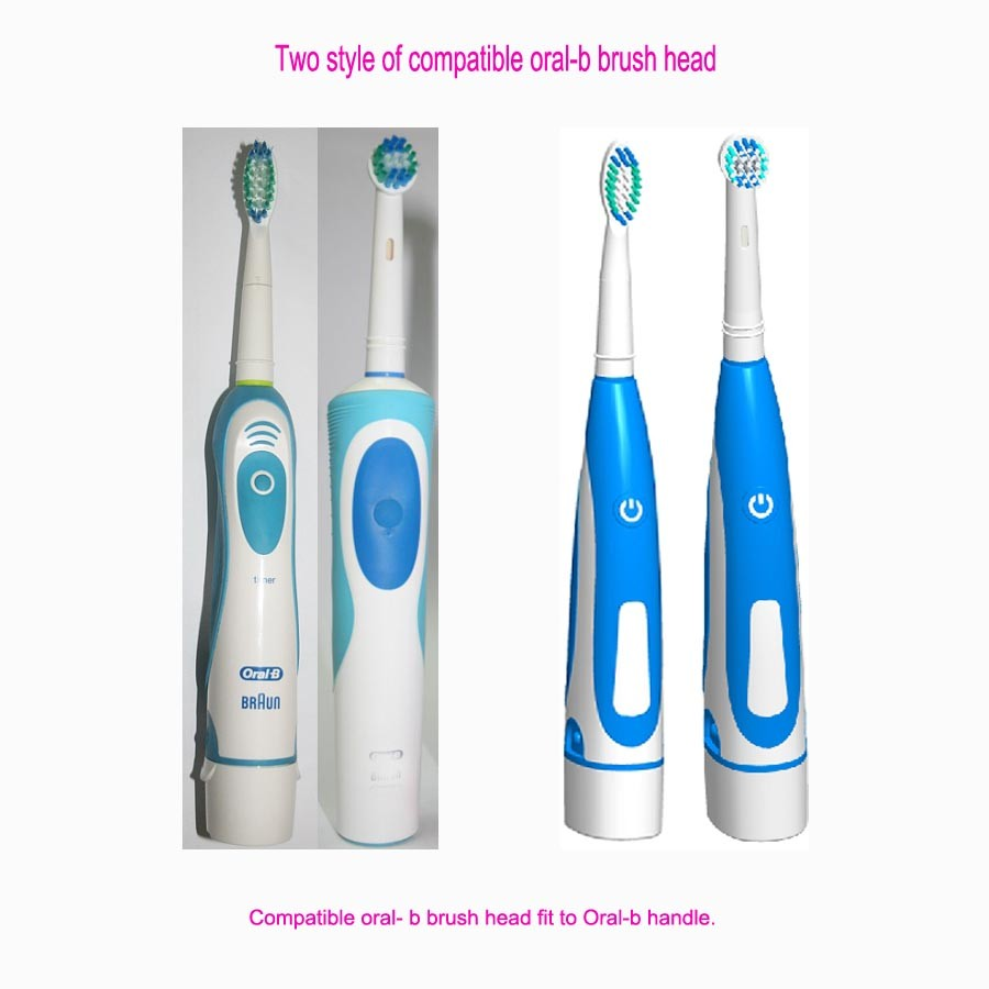Factory wholesale brush heads EB-17a Compatible for oral b
