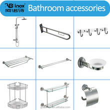 304/316 Stainless Steel Hardware Hotel Shower Bathroom Accessories Set