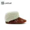 Fall Winter Pv Fur Red Ladies Boots For Women
