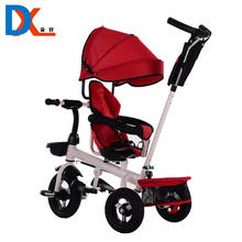 High density children tricycle and trailer toy with trike