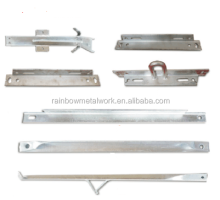 Hot Galvanized Angle Iron Cross Arm/Angle Bar for Pole Line Hardware