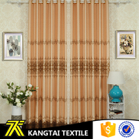 Manufacturer produce wholesale fanci design live room curtain with soft hand feeling