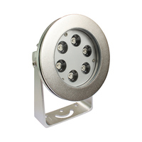 Stainless Steel 316L 18W IP68 RGB marine underwater led lights