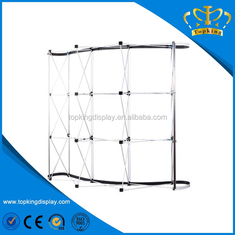 80cm 85cm 100cm aluminum various types pop up stand for display