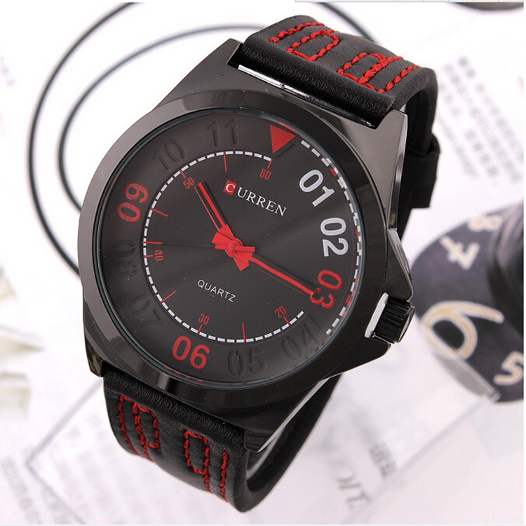 Curren Men Fashion Casual Watches Men Sport Military Quartz Analog Date Clock Man men Watch