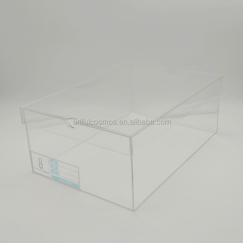Wholesale Acrylic Shoe Box Ikea Small Clear Acrylic Display Boxes With Lids
