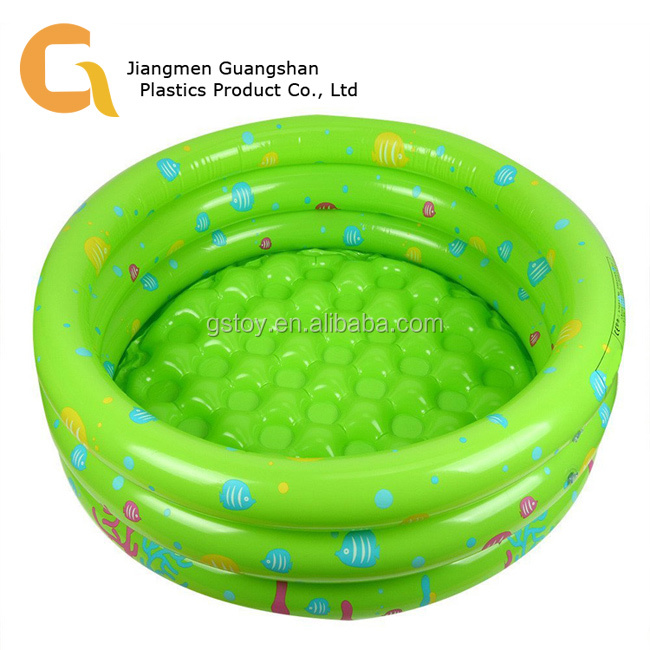 PVC custom cartoon durable inflatable baby pool for sale