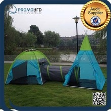 Wide field kids set camping tent toy