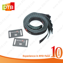 DTB NTAG213 RFID Fabirc Wristband For Cashless Payment Management