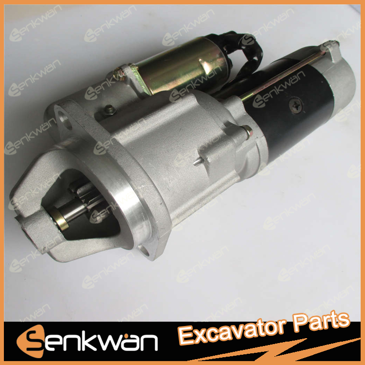 Genuine PC60-6 Excavator Engine Starting Motor