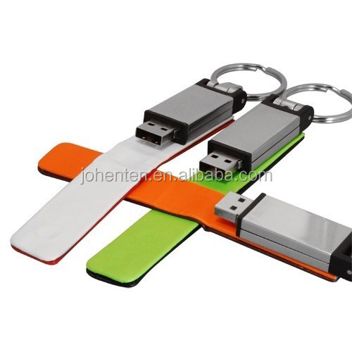 promotional bulk factory direct selling medical alert bracelet usb flash drive Brand Custom Leather Can be printed logo