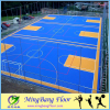 2017 most popular waterproof indoor/outdoor pp interlocking sports flooring for futsal court