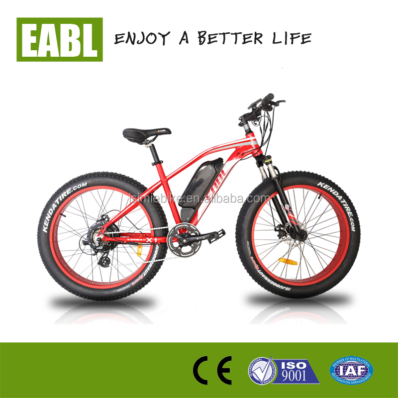 Electric Mountain Bike 26 inch wheels