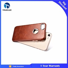 Noble Type Custom 100% Genuine PU Leather Case Mobile Cover For iPhone 7