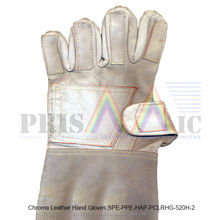 Chrome Leather Hand Gloves ( SPE-PPE-HAP-PCLRHG-520H-2 )