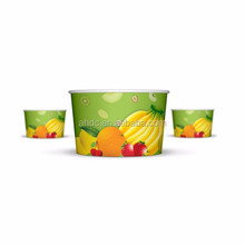 wholesale disposable paper fruit salad bowl for takeaway food