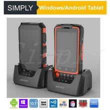 Simply W88 4.0 inch touch screen rugged RFID/1D barcode/2D barcode android handheld barcode scanner