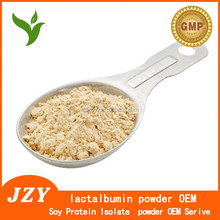 lactalbumin powder OEM; Isolated soy protein OEM;Health Care Products GMP Certified Whey Protein Isolate Powder/Whey protein pow