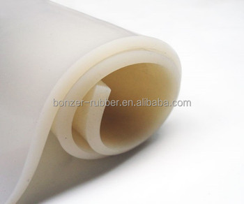 grey food and medical industrial silicone rubber sheet