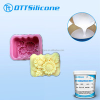 Low shrinkage 2 part silicone for art craft mold