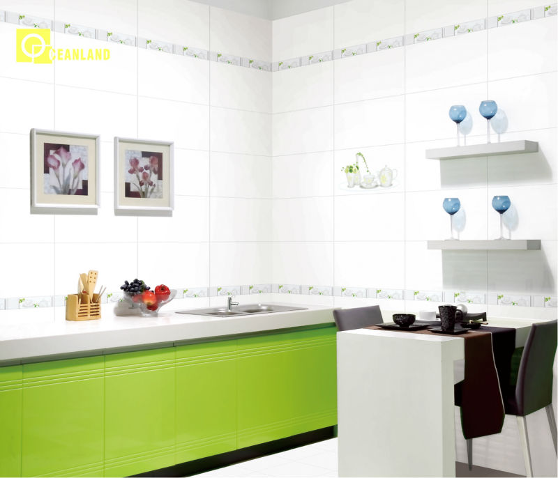 White Snap Together Kitchen Wall Tiles Underlay Foshan Buy