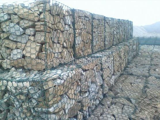 construction stone gabion / gabion retaining wall / gabion box