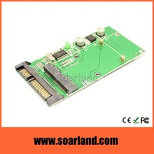 High Quality usb sata to msata mini pcie ssd combo