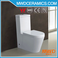 L3918 siphonic & washdown ceramic one piece toilet white