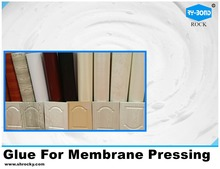 good quality hot PVC press glue vacuum membrane press adhesive