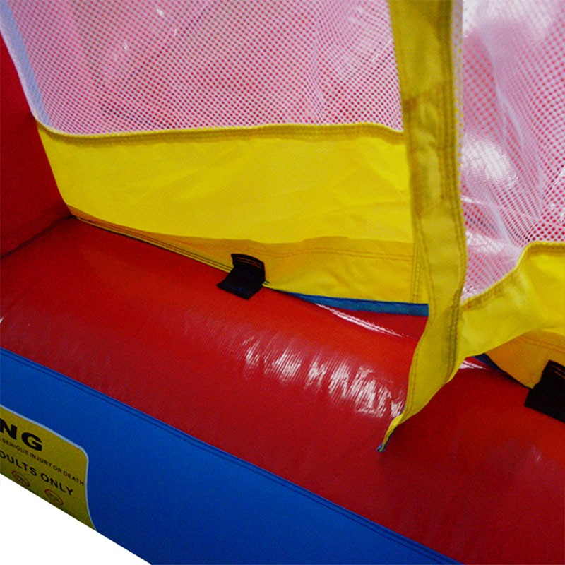 Indoor Oxford Nylon Inflatable Jumping Bouncy Castle With Slide Combo For Sale