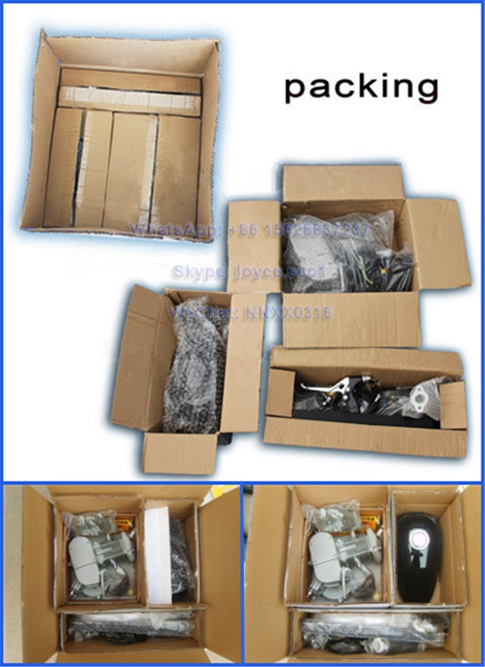 Wholesale 48cc 49cc 50cc 60cc 66cc 80cc moped 2 stroke bike motor parts