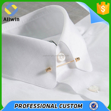Jewelry Gold Silver Mens Chic Collar Pin Cravat Tie Clip For Shirt