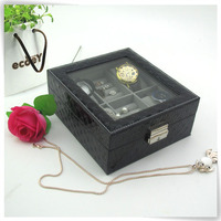 jewelry watch together in pu leatherpegboard pedestal pearl jewellery holder