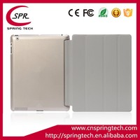 Anti scratch translucent smart cover for iPad 2/3/4
